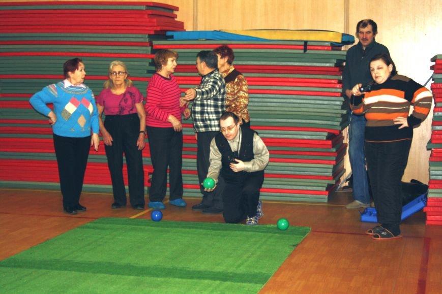 соревнования по бочче в городе Пушкин