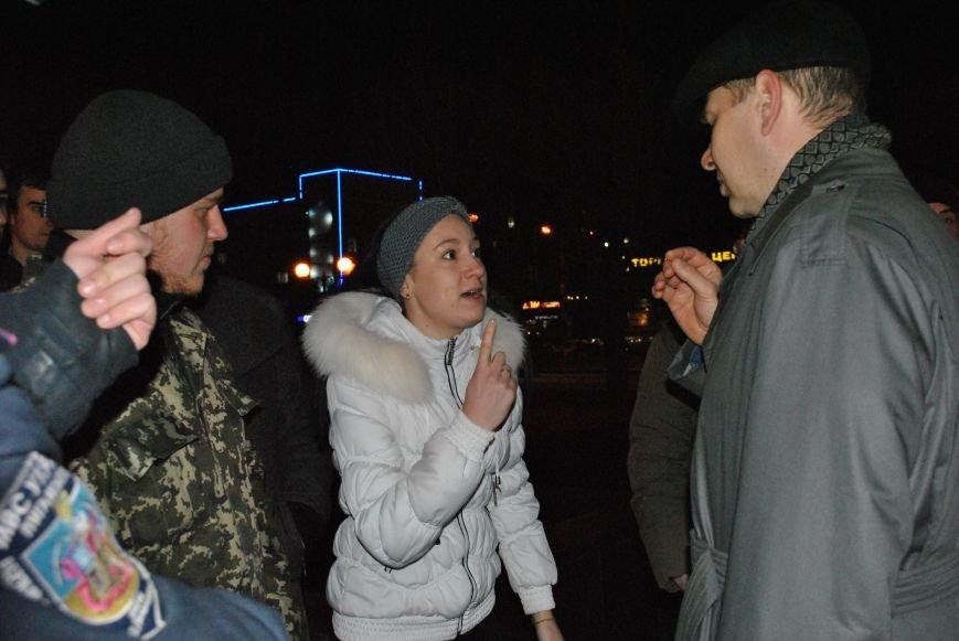 Луганские активисты «евромайдана» почтили память погибших в противостояниях украинцев (дополнено) ФОТО, фото-1