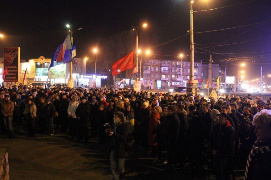 Майдан в Кривом Роге почтил память погибших и высказал недоверие депутатам горсовета, фото-8