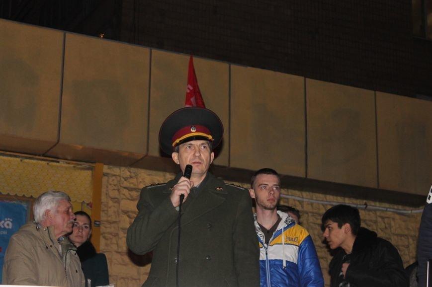 Майдан в Кривом Роге почтил память погибших и высказал недоверие депутатам горсовета, фото-3
