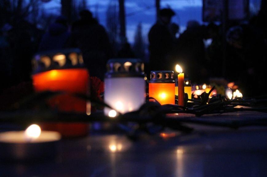 Майдан в Кривом Роге почтил память погибших и высказал недоверие депутатам горсовета, фото-2
