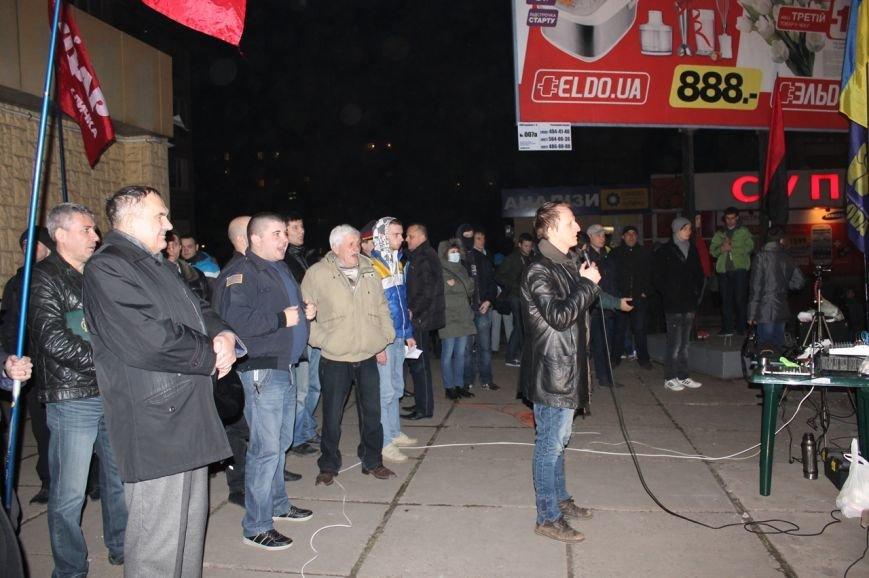 Майдан в Кривом Роге почтил память погибших и высказал недоверие депутатам горсовета, фото-9