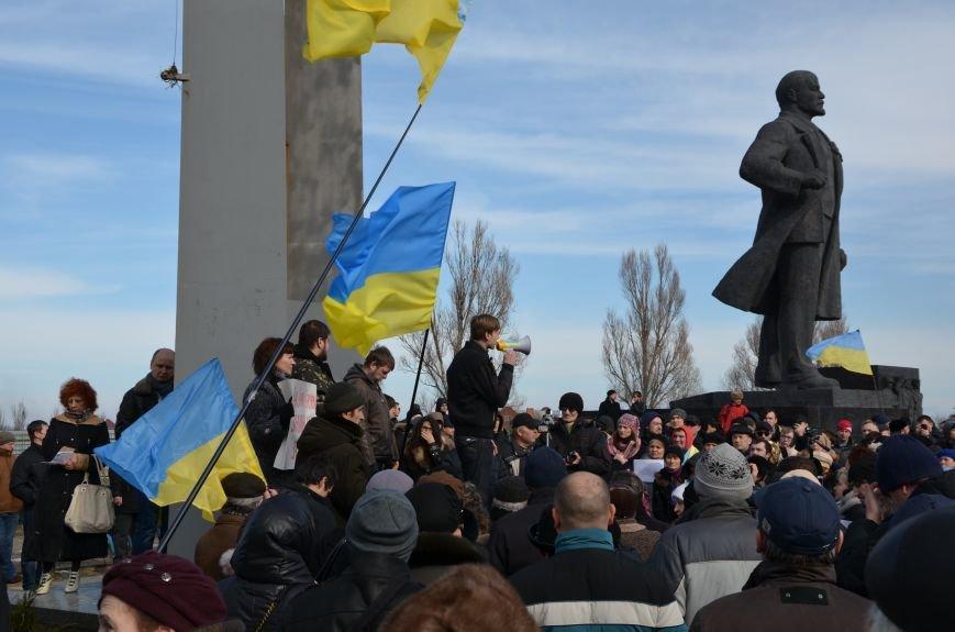 В Мариуполе на митинге памяти порвали портрет Януковича (ФОТОРЕПОРТАЖ), фото-53