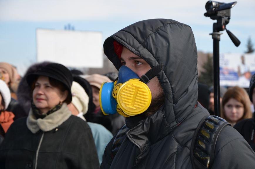 В Мариуполе на митинге памяти порвали портрет Януковича (ФОТОРЕПОРТАЖ), фото-59
