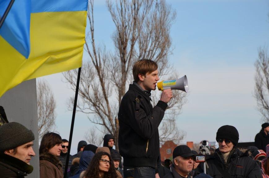 В Мариуполе на митинге памяти порвали портрет Януковича (ФОТОРЕПОРТАЖ), фото-56
