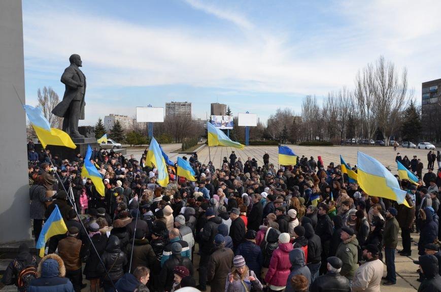 В Мариуполе на митинге памяти порвали портрет Януковича (ФОТОРЕПОРТАЖ), фото-54