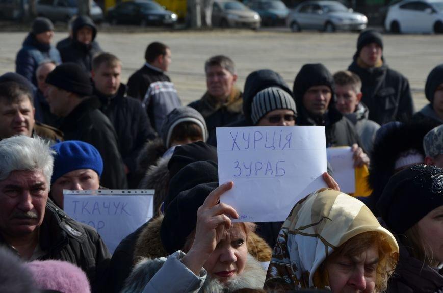 В Мариуполе на митинге памяти порвали портрет Януковича (ФОТОРЕПОРТАЖ), фото-3