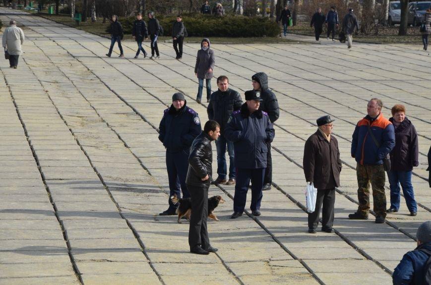 В Мариуполе на митинге памяти порвали портрет Януковича (ФОТОРЕПОРТАЖ), фото-7
