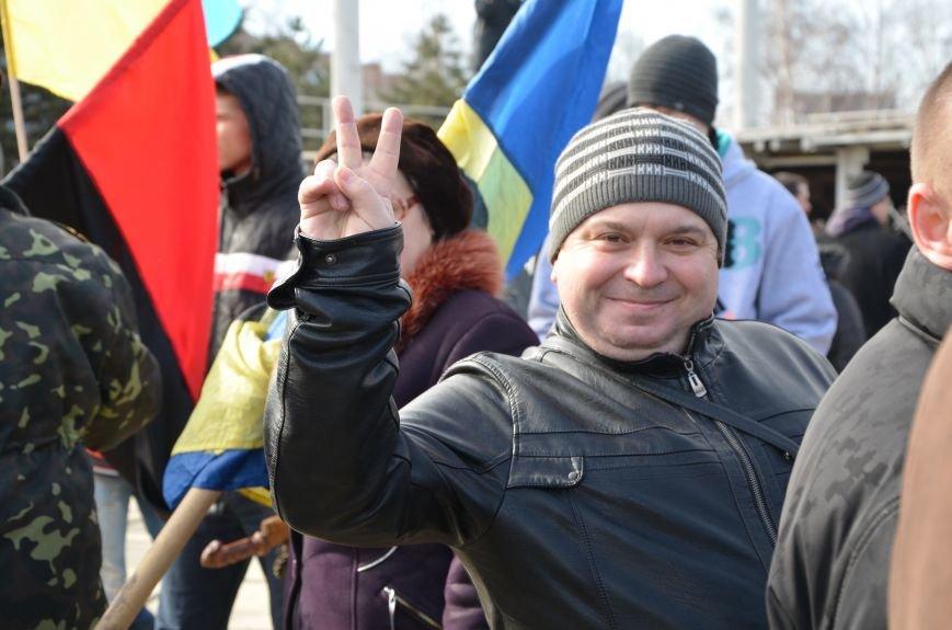 В Мариуполе на митинге памяти порвали портрет Януковича (ФОТОРЕПОРТАЖ), фото-50