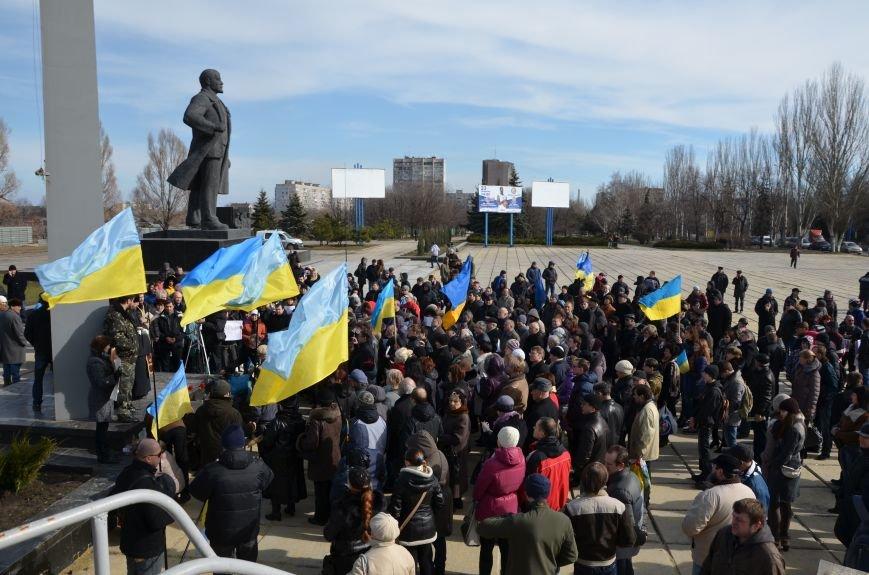 В Мариуполе на митинге памяти порвали портрет Януковича (ФОТОРЕПОРТАЖ), фото-5