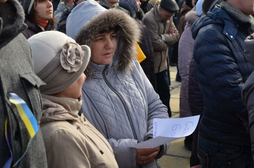 В Мариуполе на митинге памяти порвали портрет Януковича (ФОТОРЕПОРТАЖ), фото-52