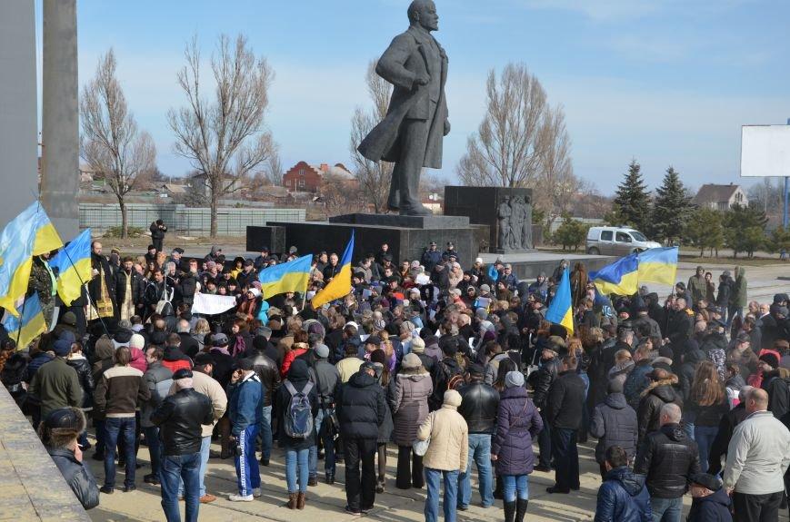 В Мариуполе на митинге памяти порвали портрет Януковича (ФОТОРЕПОРТАЖ), фото-8