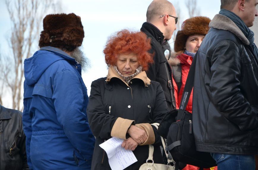 В Мариуполе на митинге памяти порвали портрет Януковича (ФОТОРЕПОРТАЖ), фото-60