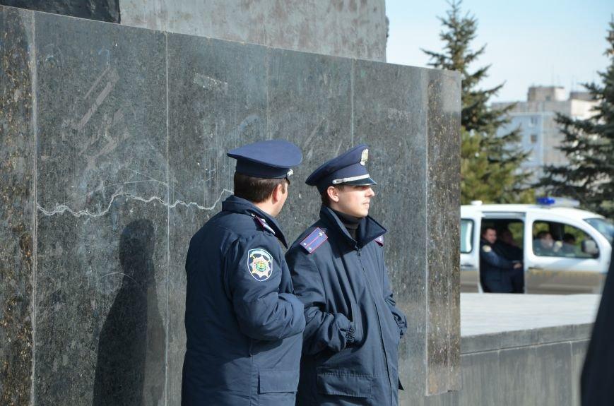 В Мариуполе на митинге памяти порвали портрет Януковича (ФОТОРЕПОРТАЖ), фото-27