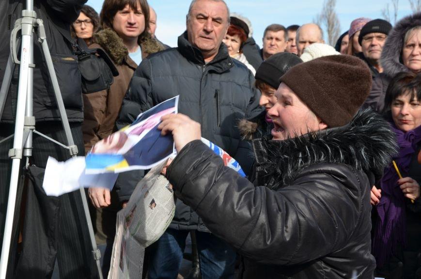 В Мариуполе на митинге памяти порвали портрет Януковича (ФОТОРЕПОРТАЖ), фото-42