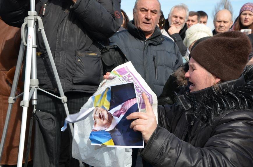 В Мариуполе на митинге памяти порвали портрет Януковича (ФОТОРЕПОРТАЖ), фото-41