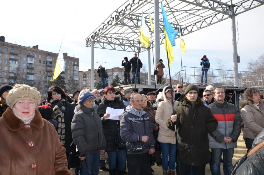 В Мариуполе на митинге памяти порвали портрет Януковича (ФОТОРЕПОРТАЖ), фото-18