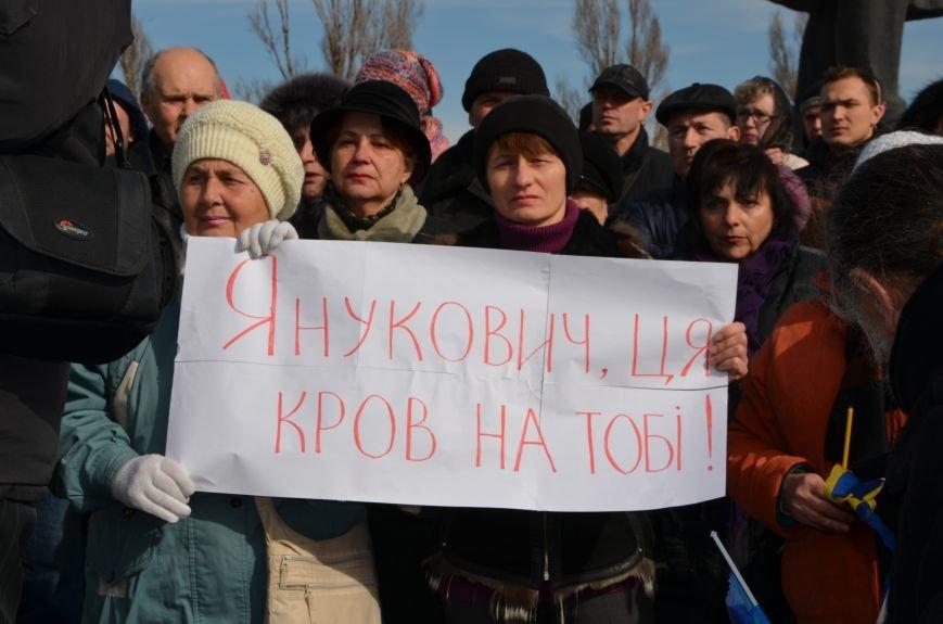 В Мариуполе на митинге памяти порвали портрет Януковича (ФОТОРЕПОРТАЖ), фото-10