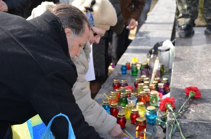 В Мариуполе на митинге памяти порвали портрет Януковича (ФОТОРЕПОРТАЖ), фото-22