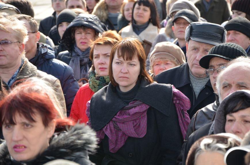 В Мариуполе на митинге памяти порвали портрет Януковича (ФОТОРЕПОРТАЖ), фото-36