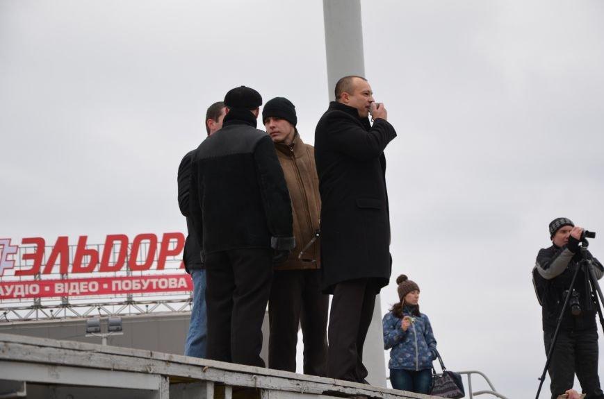 В Мариуполе Антимайдан пришел к Ленину поговорить со сторонниками Майдана (Дополнено ФОТО), фото-56