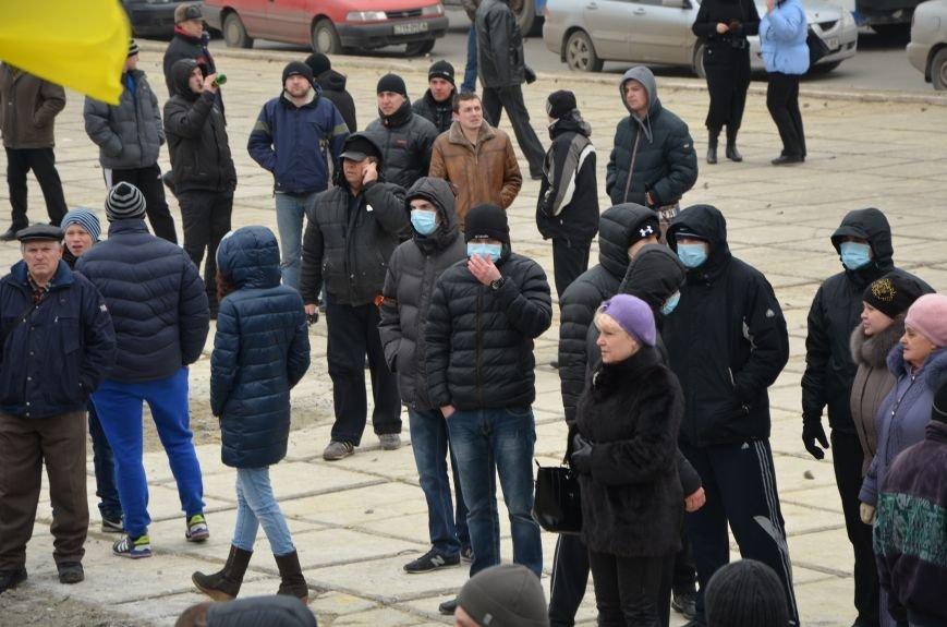 В Мариуполе Антимайдан пришел к Ленину поговорить со сторонниками Майдана (Дополнено ФОТО), фото-59
