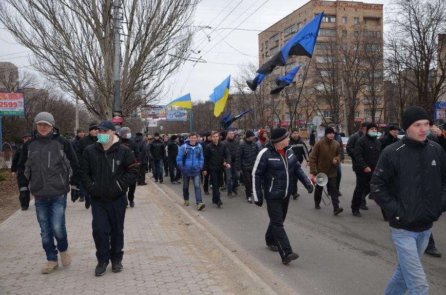 В Мариуполе Антимайдан пришел к Ленину поговорить со сторонниками Майдана (Дополнено ФОТО), фото-40