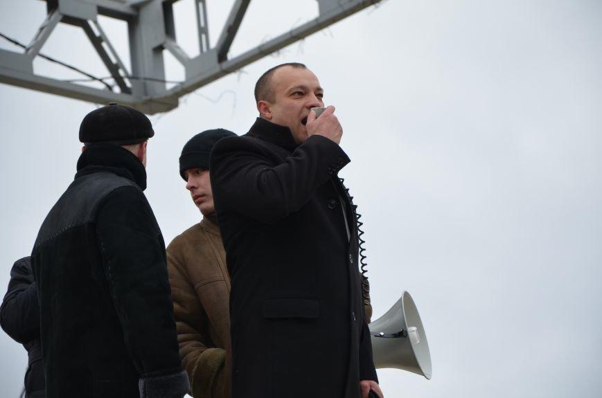 В Мариуполе Антимайдан пришел к Ленину поговорить со сторонниками Майдана (Дополнено ФОТО), фото-58