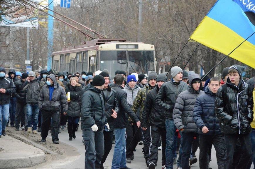 В Мариуполе Антимайдан пришел к Ленину поговорить со сторонниками Майдана (Дополнено ФОТО), фото-28