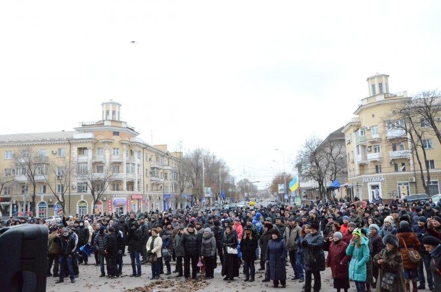 В Мариуполе Антимайдан пришел к Ленину поговорить со сторонниками Майдана (Дополнено ФОТО), фото-15