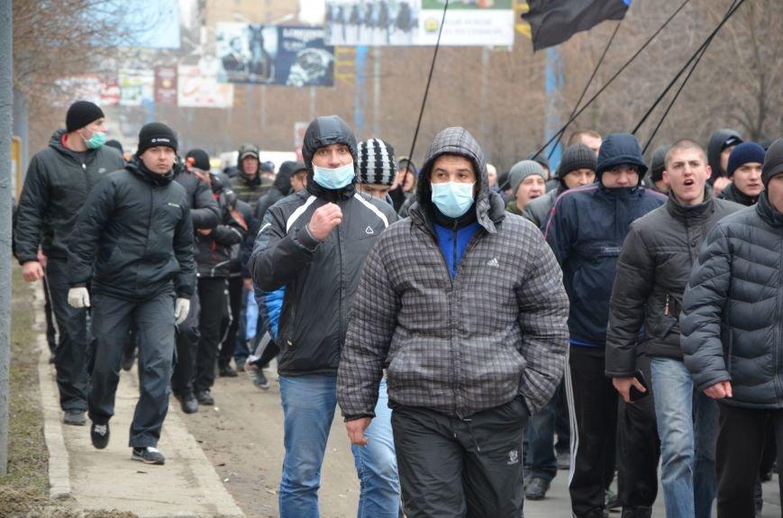 В Мариуполе Антимайдан пришел к Ленину поговорить со сторонниками Майдана (Дополнено ФОТО), фото-35