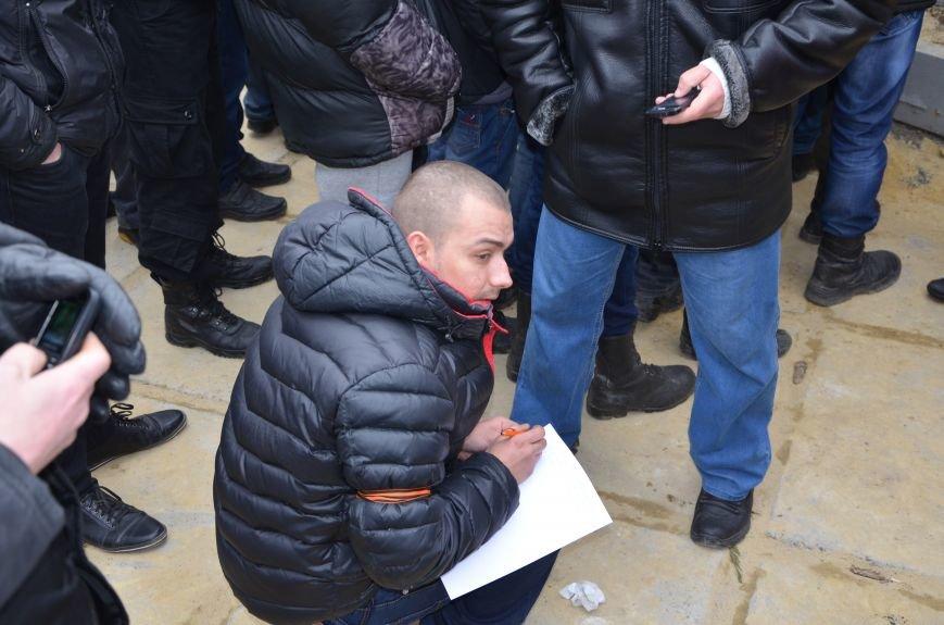 В Мариуполе Антимайдан пришел к Ленину поговорить со сторонниками Майдана (Дополнено ФОТО), фото-111