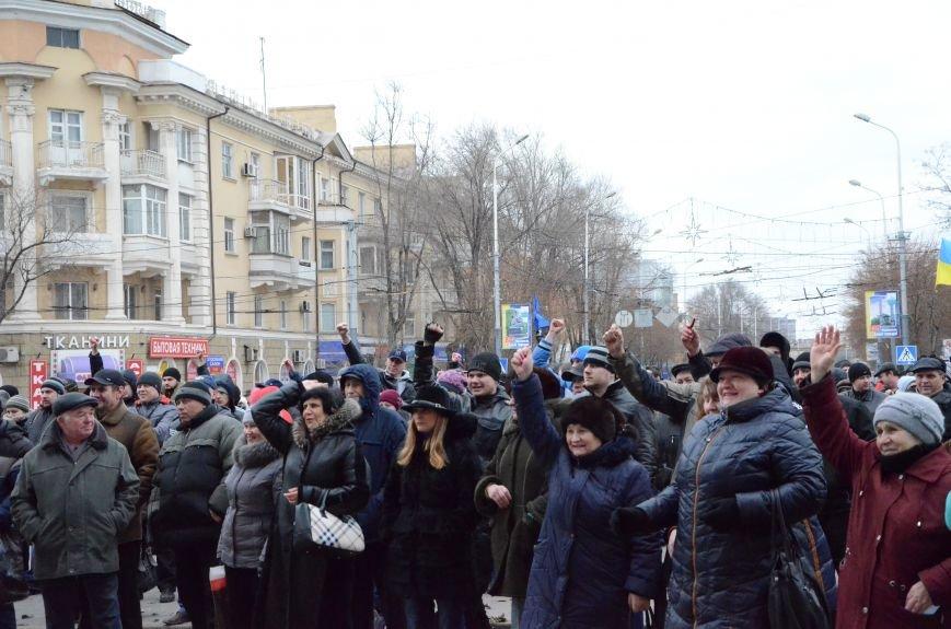 В Мариуполе Антимайдан пришел к Ленину поговорить со сторонниками Майдана (Дополнено ФОТО), фото-13