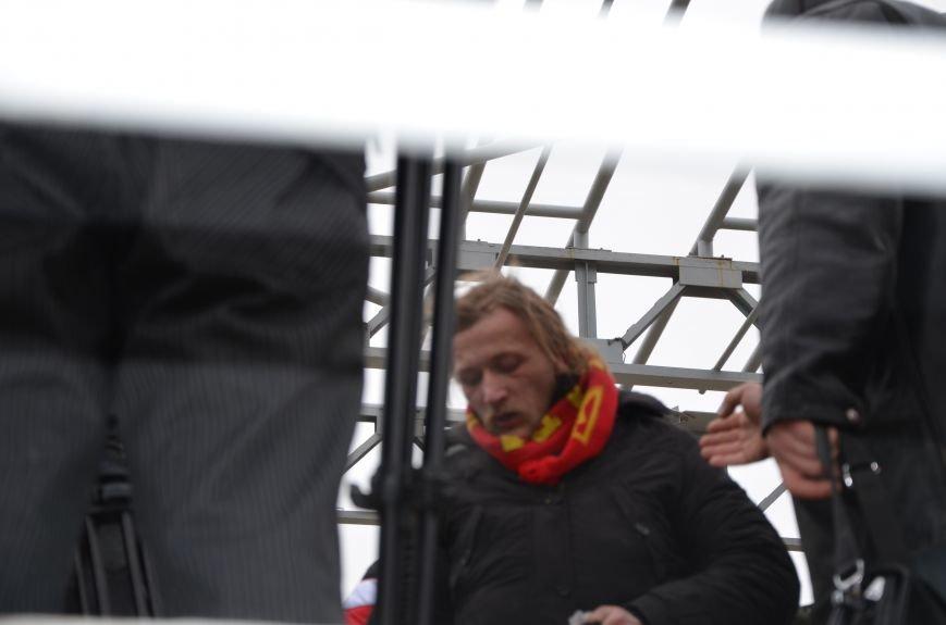 В Мариуполе Антимайдан пришел к Ленину поговорить со сторонниками Майдана (Дополнено ФОТО), фото-116
