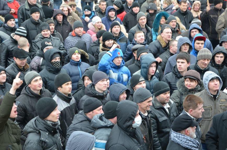 В Мариуполе Антимайдан пришел к Ленину поговорить со сторонниками Майдана (Дополнено ФОТО), фото-103