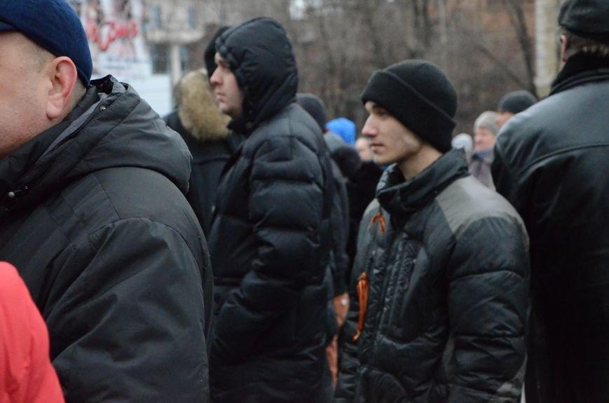 В Мариуполе Антимайдан пришел к Ленину поговорить со сторонниками Майдана (Дополнено ФОТО), фото-18