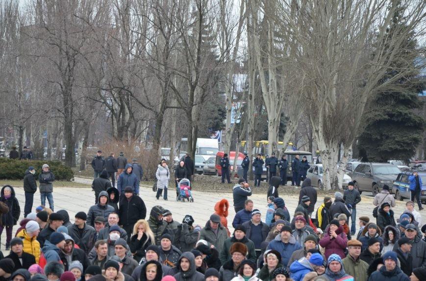 В Мариуполе Антимайдан пришел к Ленину поговорить со сторонниками Майдана (Дополнено ФОТО), фото-64