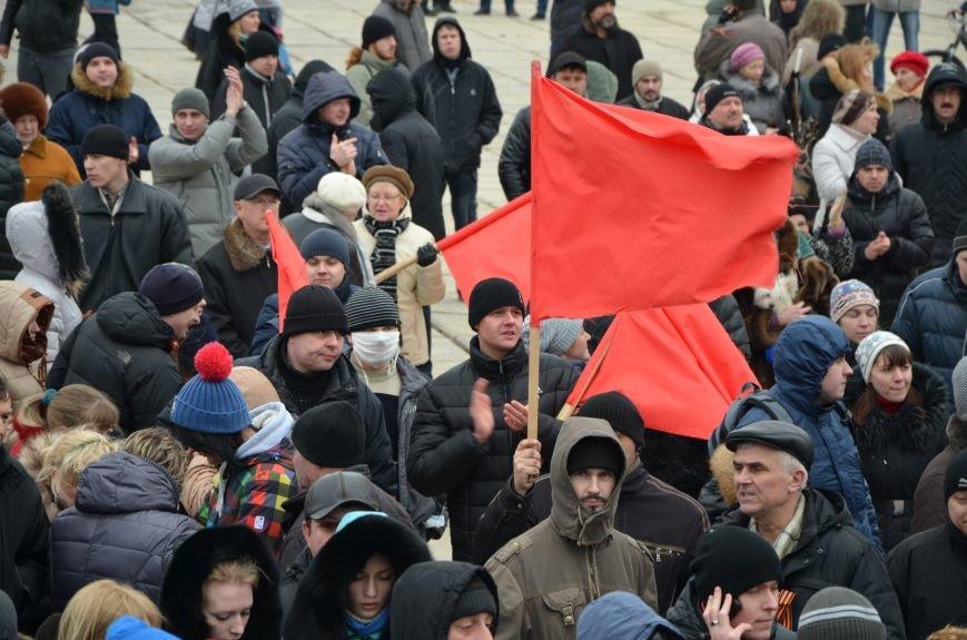 В Мариуполе Антимайдан пришел к Ленину поговорить со сторонниками Майдана (Дополнено ФОТО), фото-100