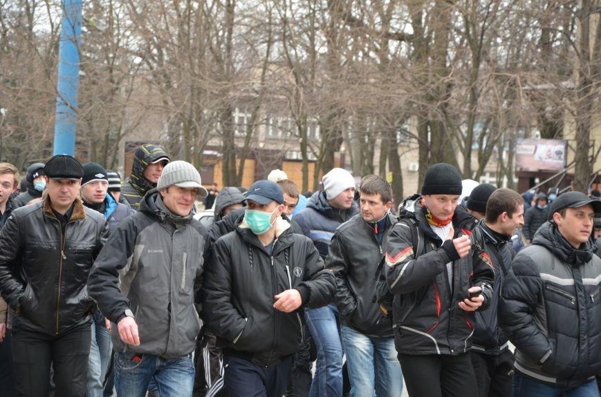 В Мариуполе Антимайдан пришел к Ленину поговорить со сторонниками Майдана (Дополнено ФОТО), фото-38