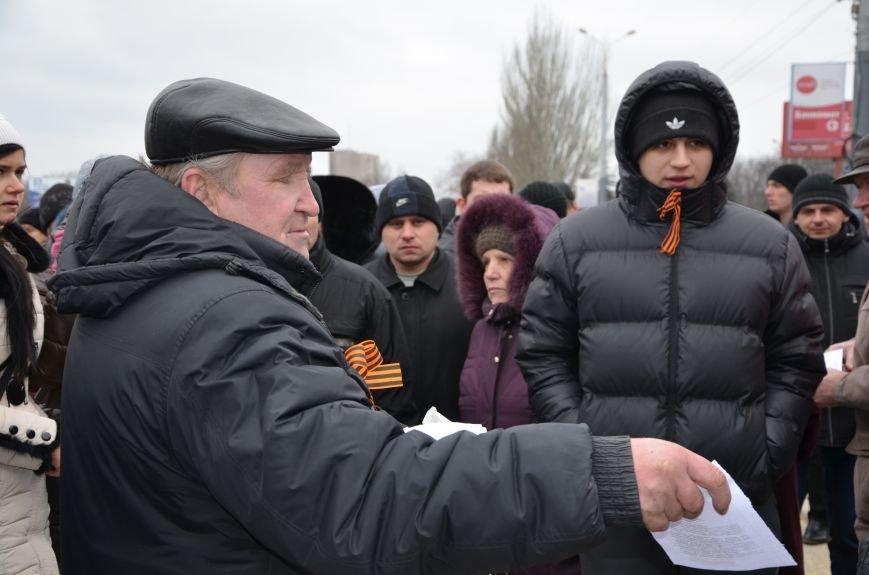 В Мариуполе Антимайдан пришел к Ленину поговорить со сторонниками Майдана (Дополнено ФОТО), фото-134