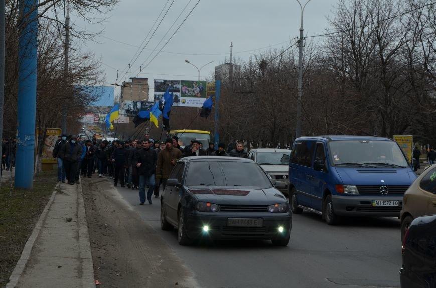 В Мариуполе Антимайдан пришел к Ленину поговорить со сторонниками Майдана (Дополнено ФОТО), фото-33