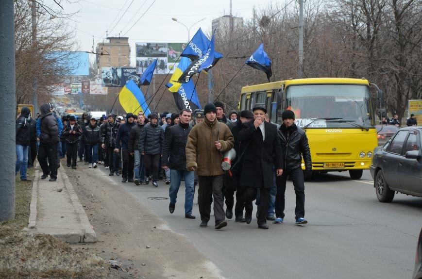 В Мариуполе Антимайдан пришел к Ленину поговорить со сторонниками Майдана (Дополнено ФОТО), фото-32