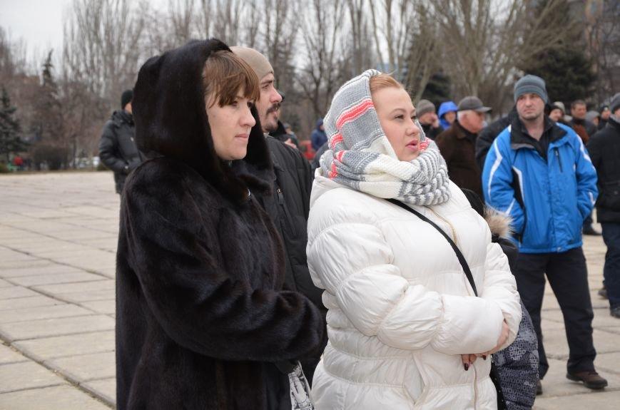 В Мариуполе Антимайдан пришел к Ленину поговорить со сторонниками Майдана (Дополнено ФОТО), фото-79