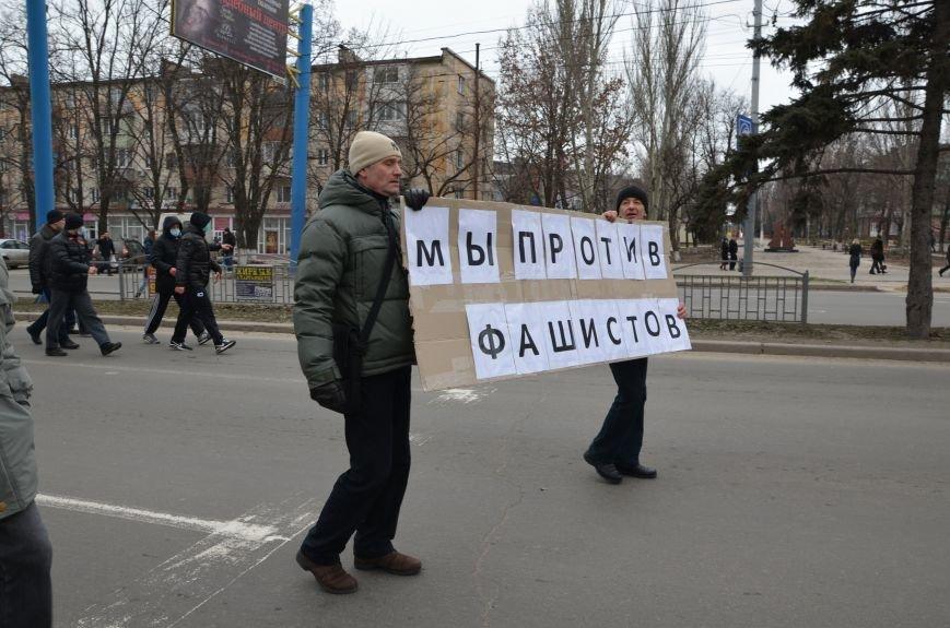 В Мариуполе Антимайдан пришел к Ленину поговорить со сторонниками Майдана (Дополнено ФОТО), фото-41