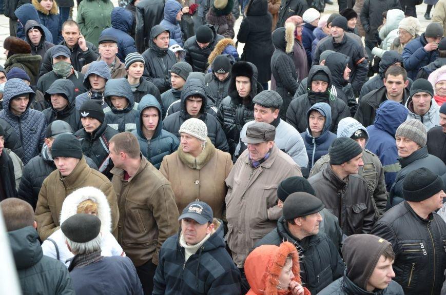 В Мариуполе Антимайдан пришел к Ленину поговорить со сторонниками Майдана (Дополнено ФОТО), фото-135