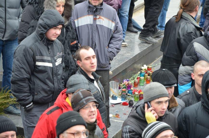 В Мариуполе Антимайдан пришел к Ленину поговорить со сторонниками Майдана (Дополнено ФОТО), фото-97