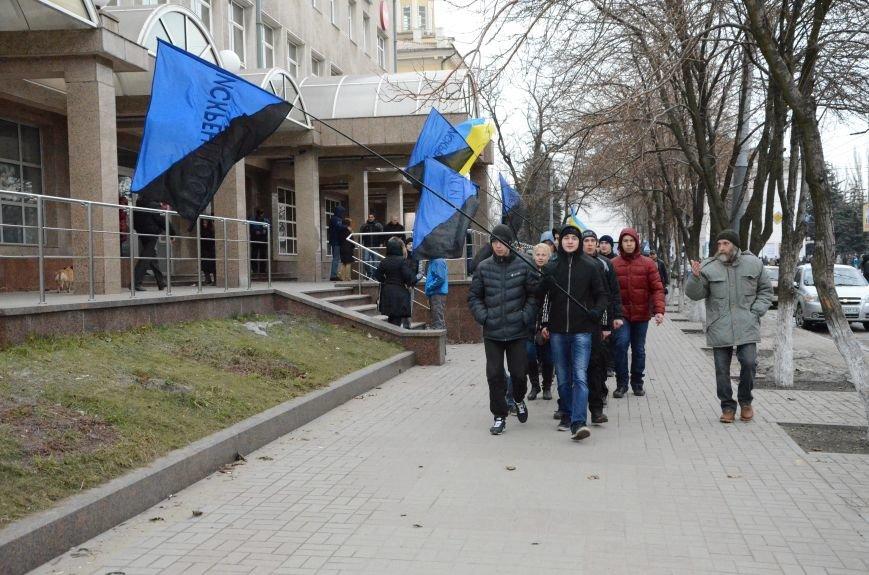 В Мариуполе Антимайдан пришел к Ленину поговорить со сторонниками Майдана (Дополнено ФОТО), фото-24