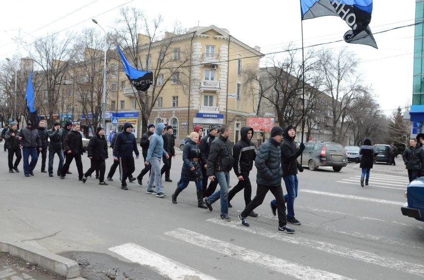 В Мариуполе Антимайдан пришел к Ленину поговорить со сторонниками Майдана (Дополнено ФОТО), фото-25