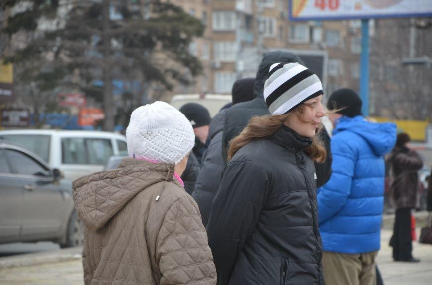В Мариуполе Антимайдан пришел к Ленину поговорить со сторонниками Майдана (Дополнено ФОТО), фото-85