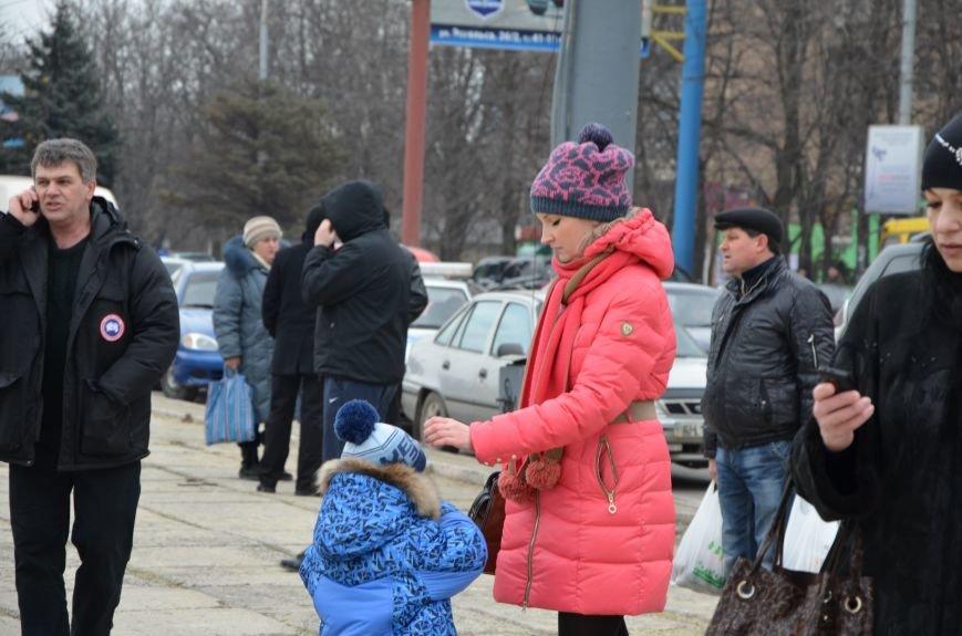В Мариуполе Антимайдан пришел к Ленину поговорить со сторонниками Майдана (Дополнено ФОТО), фото-86